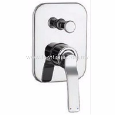 CONCEALED BATH MIXER WITH DIVERTER TR-TP-CBD-08913-CH