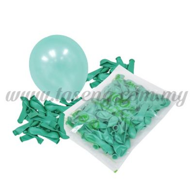 5 inch Metallic Balloon - Mint Green  (B-MR5-874)
