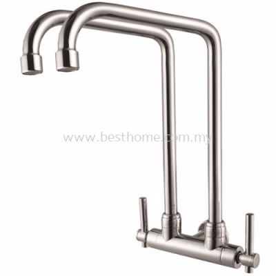 FAUREX I-SERIES KITCHEN WALL SINK TAP FR-WTW001-I / FR-TP-WS-00289-CH