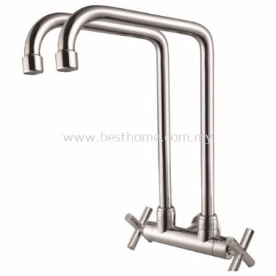 FAUREX T-SERIES KITCHEN WALL SINK TAP FR-WTW002-T / FR-TP-WS-00336-CH