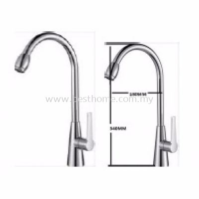 FAUREX PILLAR SINK COLD TAP FR-TP-PS-09438-CH