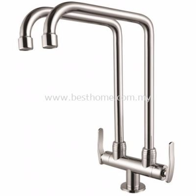 KITCHEN PILLAR SINK TAP FR-PTW003-L / FR-TP-PS-00299-CH