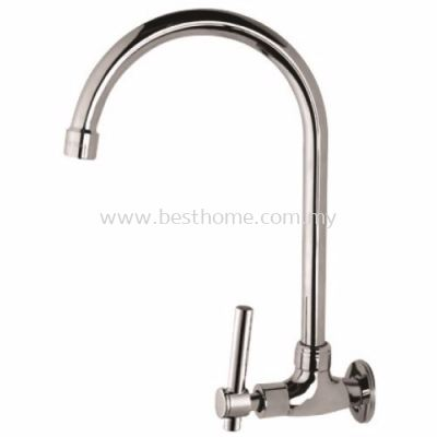 FAUREX I-SERIES KITCHEN WALL SINK TAP FR-WS001-I / FR-TP-WS-00292-CH