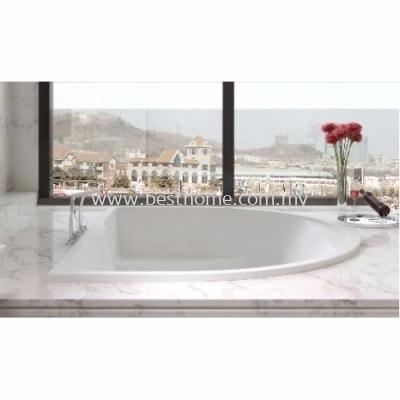 POLYSTONE FREE STANDING LONG BATH TR-BHT-FSB-06336-WW