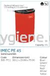 IMEC PE45 - Semiround Bin Plastic Bins Waste Bins