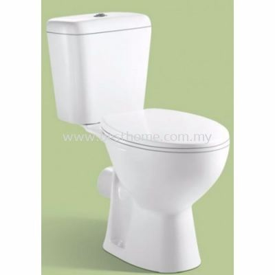 TWO PIECE WATER CLOSET LC-SYW-CCS- 11307-WW (S-300MM)
