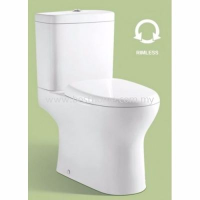 LE CELEBRITY TWO PIECE WATER CLOSET LC-SYW-CCS- 11168-WW