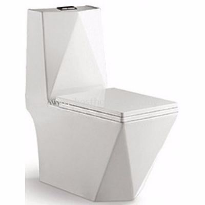 LE CELEBRITY ONE PIECE WATER CLOSET MATRIX-P / LC-SYW-OPS-09344-WW