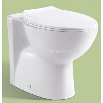 LE CELEBRITY TWO PIECE WASHDOWN WC SET LC-SYW-CCS- 10884-WW