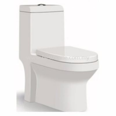 LE CELEBRITY ONE PIECE WATER CLOSET ZEN / LC-SYW-OPS-07690-WW