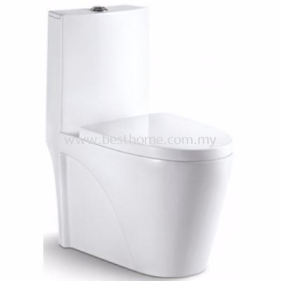 LE CELEBRITY ONE PIECE WATER CLOSET VIVO / LC-SYW-OPS-07494-WW