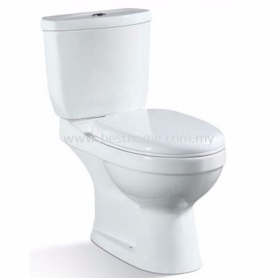 LE CELEBRITY TWO PIECE WATER CLOSET SIMPLFY-P / LC-SYW-CCS-09343-WW