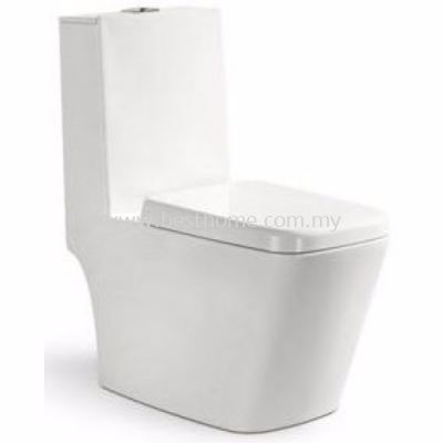 LE CELEBRITY ONE PIECE WATER CLOSET STELLE / LC-SYW-OPS-08418-WW