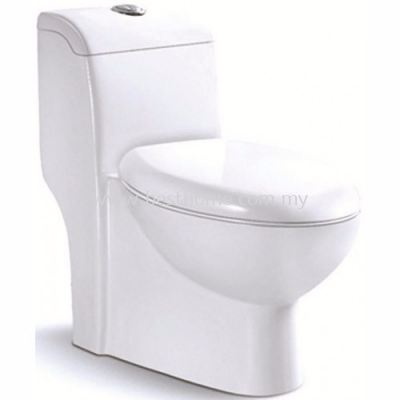 LE CELEBRITY ONE PIECE WATER CLOSET LT1011A / LC-SYW-OPS-07327-WW