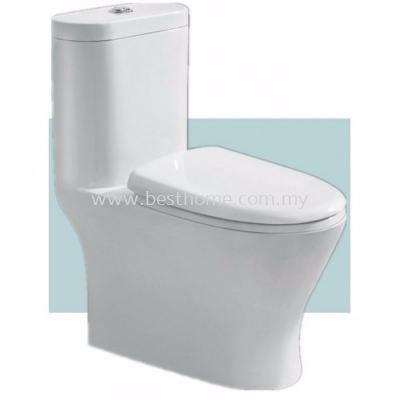 LE CELEBRITY ONE PIECE WATER CLOSET PAROS / LC-SYW-OPS-07062-WW
