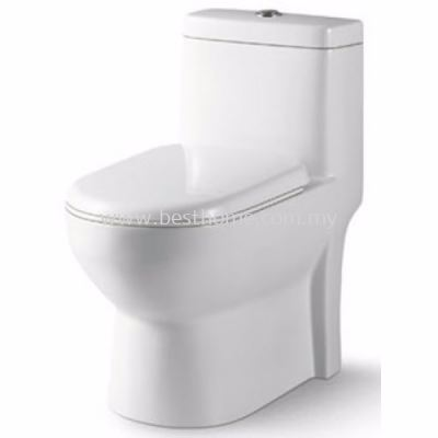 LE CELEBRITY ONE PIECE WATER CLOSET VITRA / LC-SYW-OPS-07125-WW