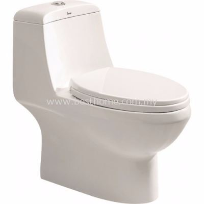 LE CELEBRITY ONE PIECE WATER CLOSET RADIUM / LC-SYW-OPS-07052-WW