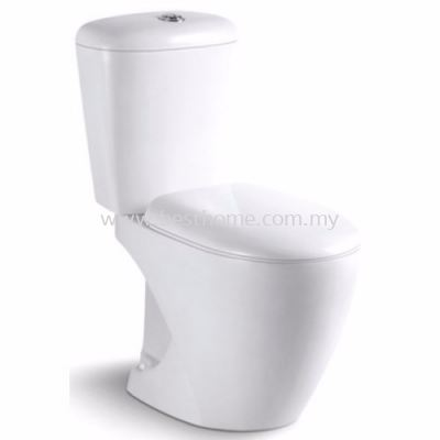LE CELEBRITY TWO PIECE WATER CLOSET MILY / LC-SYW-CCS-07495-WW