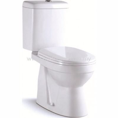 LE CELEBRITY TWO PIECE WATER CLOSET LT2014A / LC-SYW-CCS-07330-WW
