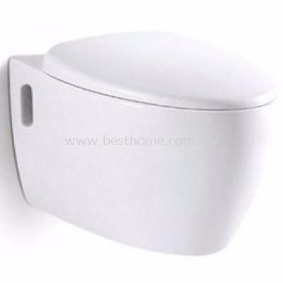 LE CELEBRITY WALL HUNG WATER CLOSET WT01 / LC-SYW-CCS-08202-WW