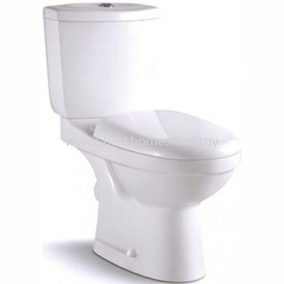 TWO PIECE WATER CLOSET LT2018A / LC-SYW-CCS-07329-WW