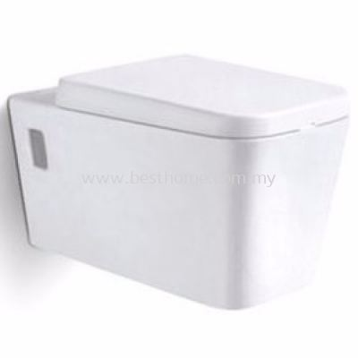 LE CELEBRITY WALL HUNG WATER CLOSET WT02 / LC-SYW-CCS-08203-WW