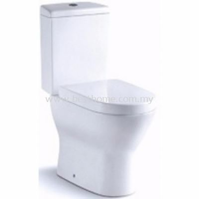 TWO PIECE WATER CLOSET LUMIO / LC-SYW-CCS-07331-WW