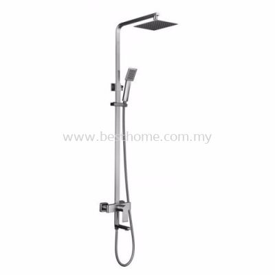 TORA EXPOSED SHOWER BAR SET TR-SH-EBS-10027-ST