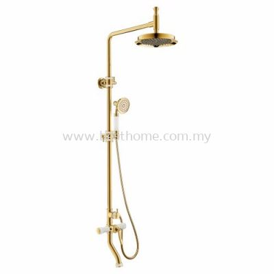 TORA REGALIC ROYAL SERIES EXPOSED SHOWER BAR SET EBS1900 / TR-SH-EBS-08565