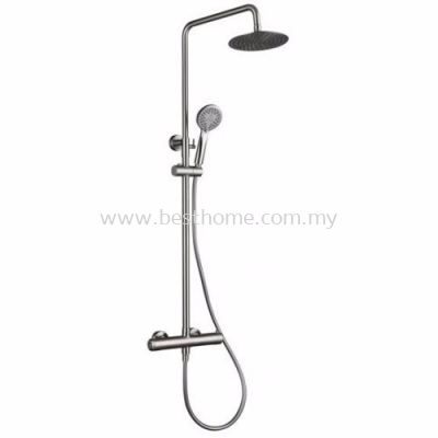 TORA EXPOSED SHOWER BAR SET TR-SH-EBS-10028-ST