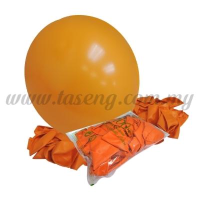 16 inch Standard Round Balloon - Orange (B-16SR-005)