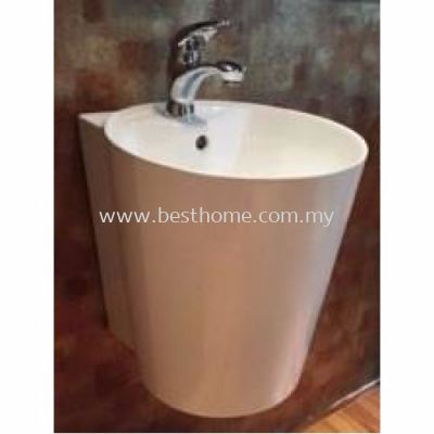 WALL HUNG WASH BASIN LC-SYW-WHB-09202-WW