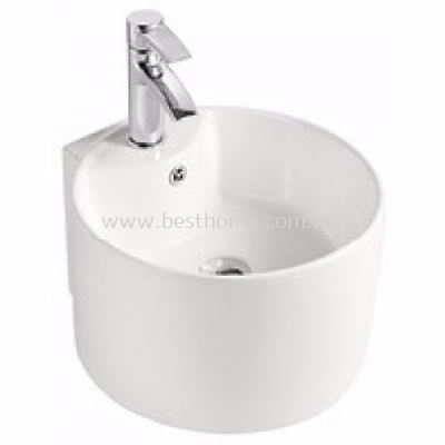 LE CELEBRITY COUNTER TOP / WALL HUNG WASH BASIN A021 / LC-SYW-WHB-08155-WW