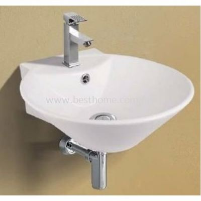 WALL HUNG WASH BASIN A168 / LC-SYW-WHB-07802-WW