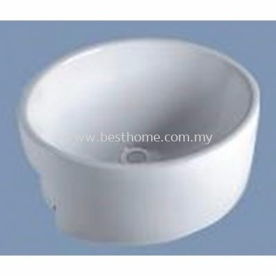 SEMI-RECESSED WASH BASIN KD726 / LC-SYW-WHB-07797-WW