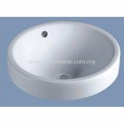 UNDER COUNTER WASH BASIN KD731B / LC-SYW-WHB-07798-WW