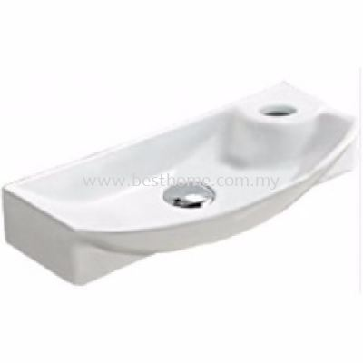 LE CELEBRITY WALL HUNG WASH BASIN TREVI / LC-SYW-WHB-07692-WW