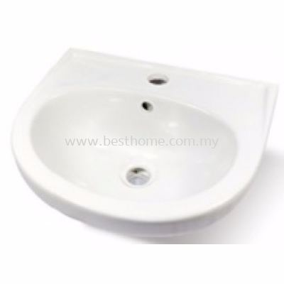 LE CELEBRITY WALL HUNG WASH BASIN AVID / LC-SYW-WHB-07135-WW