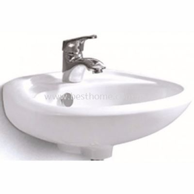 WALL HUNG WASH BASIN LT304G / LC-SYW-WHB-07332-WW