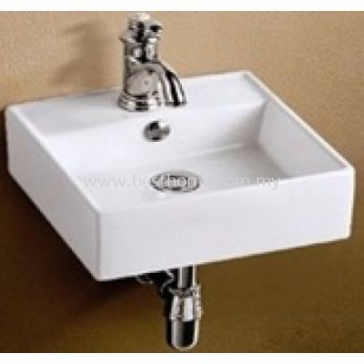 COUNTER TOP / WALL HUNG WASH BASIN LT5047 / LC-SYW-WHB-07337-WW