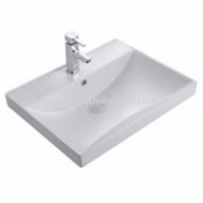 WJA WALL HUNG WASH BASIN WJA2264 / WJA-SYW-WHB-01969-WW