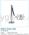IMEC SVQ 100 - Q-Up Stand  Floor Sign, Q-up Stand