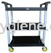 IMEC 3TT-X Small Utility Cart (Black) Utility Cart Trolley