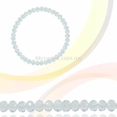 Crystal China, Donut 3mm, B43 Moonlight