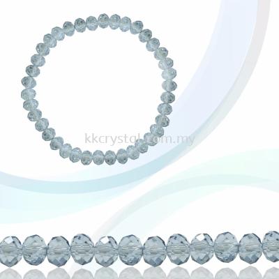 Crystal China, Donut 4mm, B117 Denim Blue AB