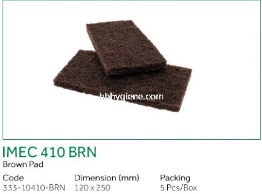 IMEC 410 BRN - Brown Pad