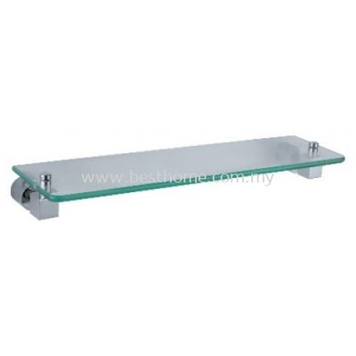 SQ SERIES GLASS SHELF SQ10204 / TR-BA-GS-01279-CH