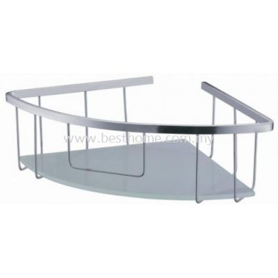 ANTHILL CORNER GLASS SHELF AH101 / AH-BA-GS-00865-ST