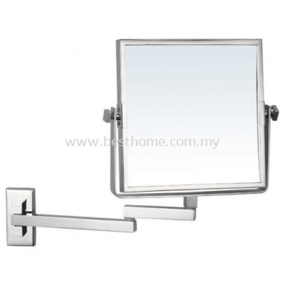 TORA WALL MOUNTED MAGNIFYING MIRROR MM08 / TR-BA-MM-01250-PL