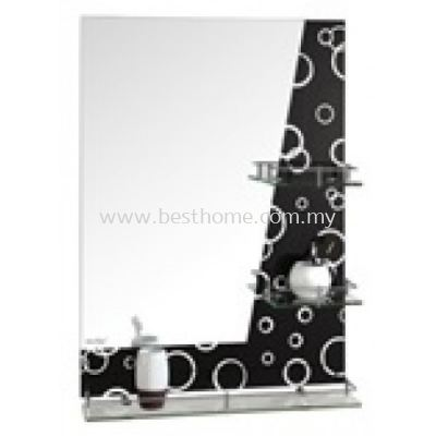 MIRROR WITH SHELF M63015B / TR-BA-MR-01242